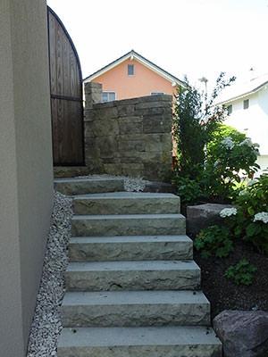 Hauszugang Naturstein